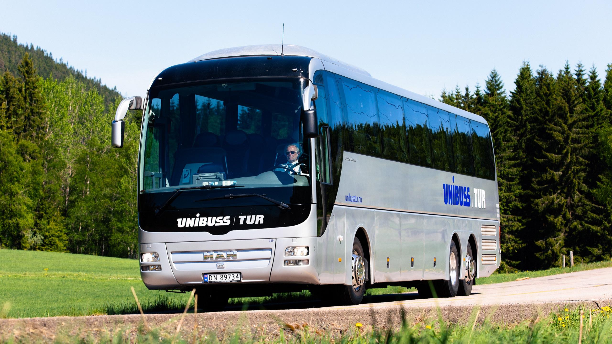 leie buss med sjåfør oslo